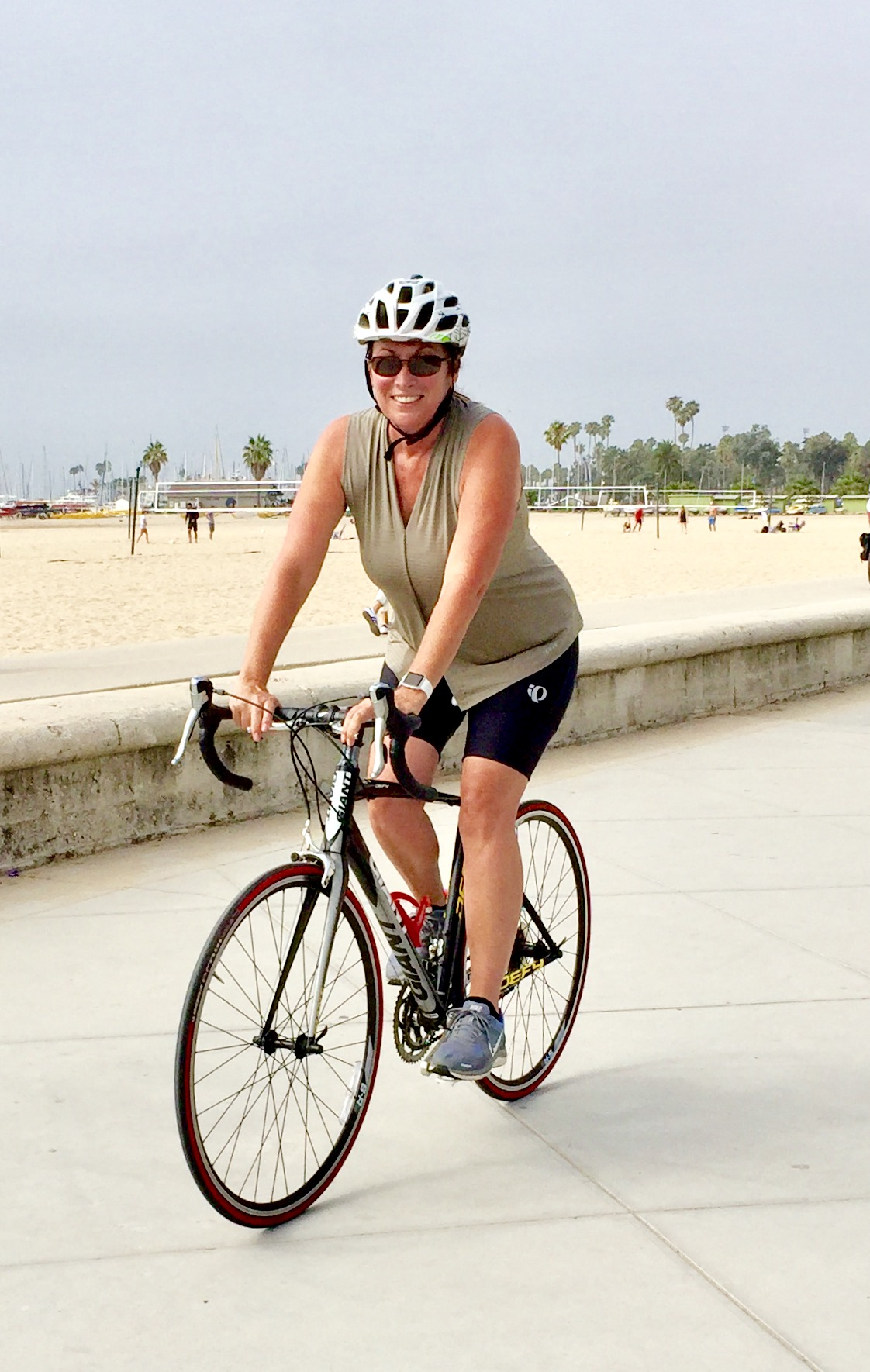 Riding bikes in beautiful Santa Barbara is a great way to stay in shape when you are over 50.